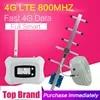 Усилитель сотовой связи Europe 4G LTE 800 МГц 4G FDD LTE ALC 70 дБ