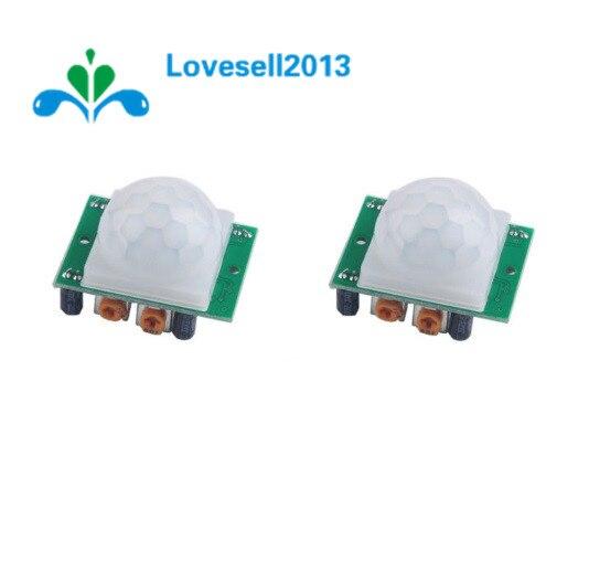 Автоматический инфракрасный сенсор HCSR501 SR501, пироэлектрический инфракрасный сенсор, 5 шт., инфракрасный сенсор