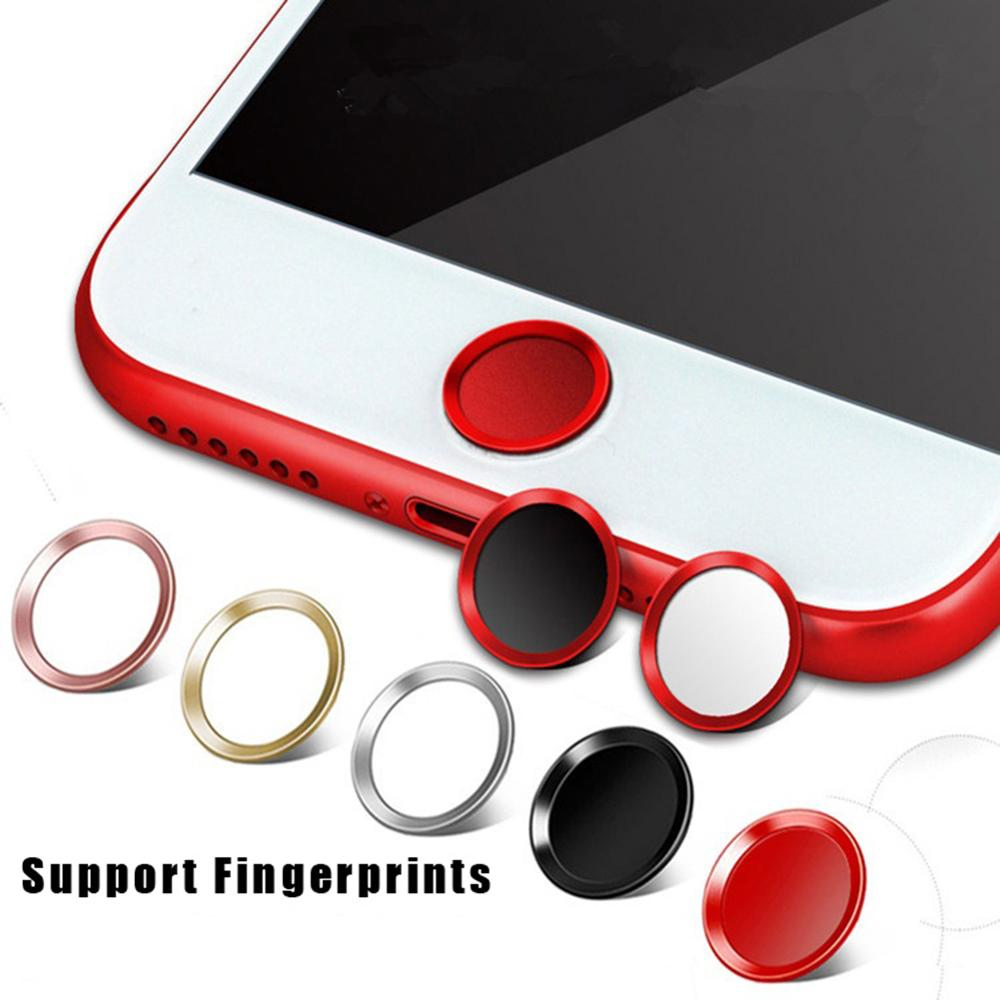 Support Fingerprint Unlock Touch Key ID Home Button Sticker Protector Keypad Keycap For IPhone 5s 5