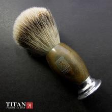 Titan rasoir brosse blaireau cheveux brosse rasoir brosse