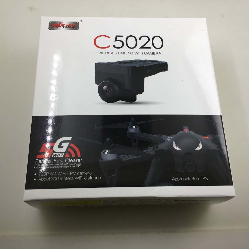MJX RC كاميرا C5020 5.8G واي فاي 720P FPV كاميرا ل MJX البق 3 سباق بدون طيار أجهزة الاستقبال عن بعد بدون طيار RC قطع الغيار