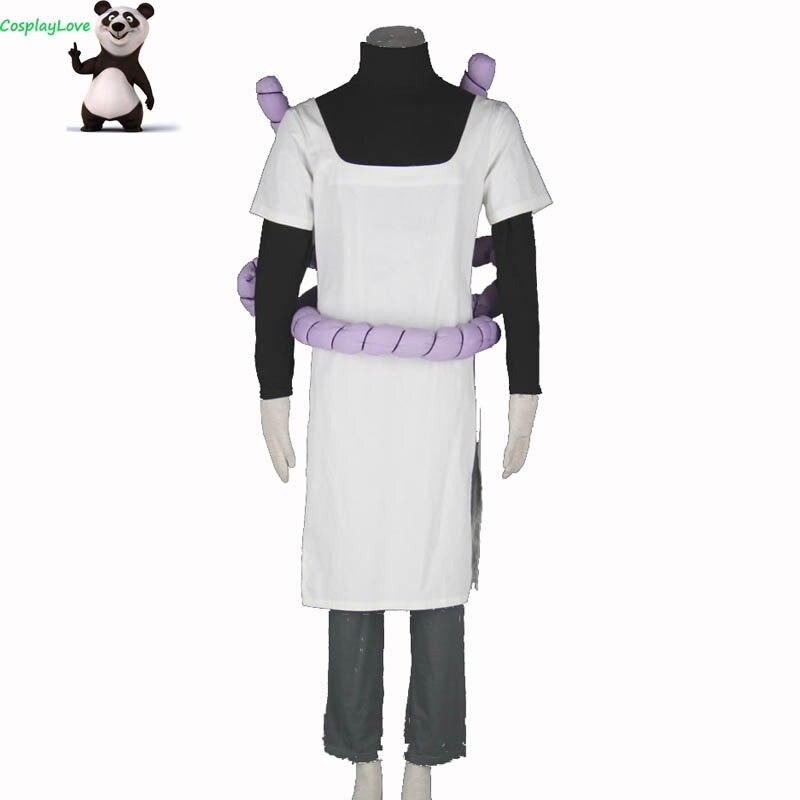 Disfraz de Cosplay de Naruto Orochimaru personalizado para chico adulto