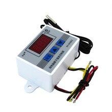Sonde de commutateur de contrôle de Thermostat du contrôleur 10A de température de LED numérique avec le capteur imperméable 220V/12V/24V XH-W3002 W3002