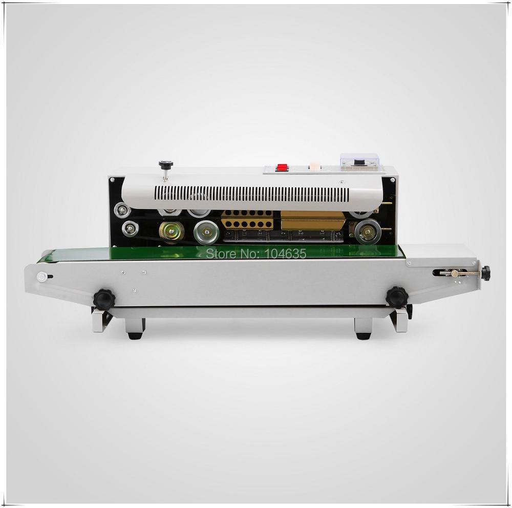 Полуавтоматическая машина для непрерывного запечатывания пищевых пакетов, машина для запечатывания полиэтиленовых пластиковых пакетов, м...