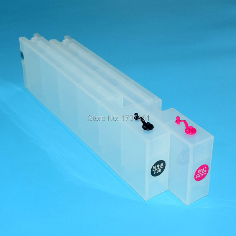 5 cor T6941-T6945 1000ml reenchimento cartucho de tinta com chip para epson surecolor t3000 t5000 t7000 impressora de grande formato