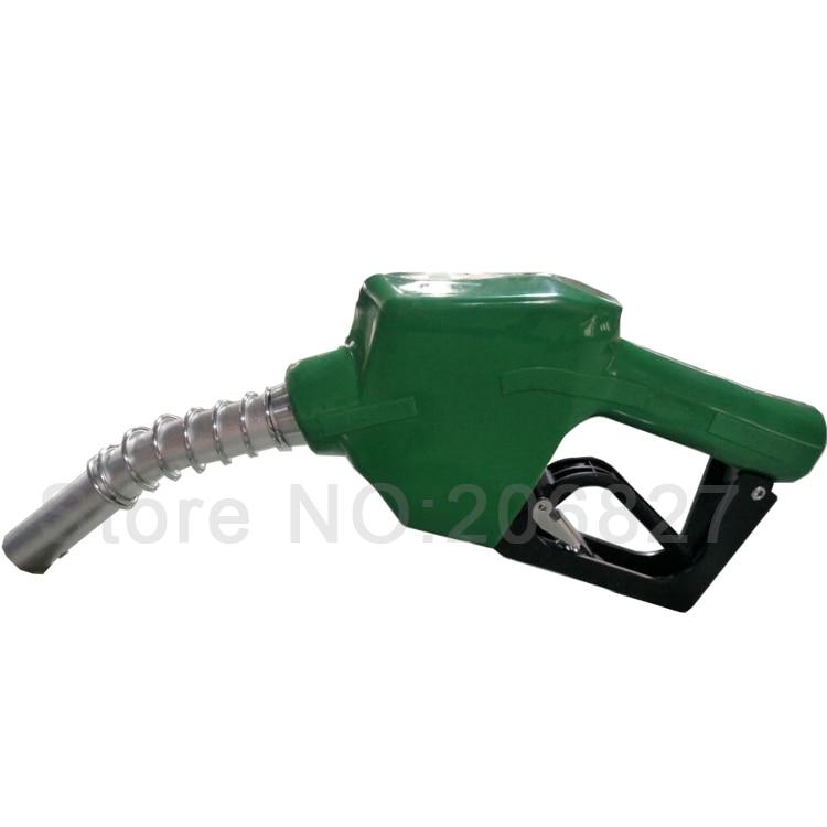 محطة الغاز موزع مضخة التلقائي زيت الوقود ملء حقن مسدس بخاخ منفث (اللون الأخضر)