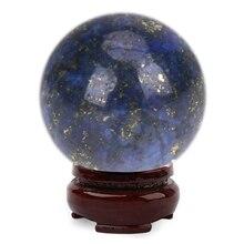 20mm Natürliche Lapislazuli Kristall FeiShui Ball Healing Kugel Large Kristall Heilstein DIY Dekoration Zubehör