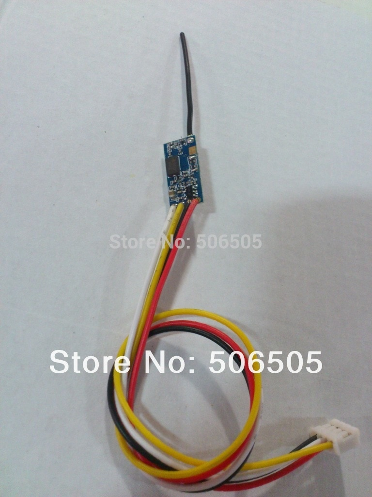 3.3-5V 18X9mm 4 channels mini 20MW 5.8G audio and video wireless transmitter enlarge