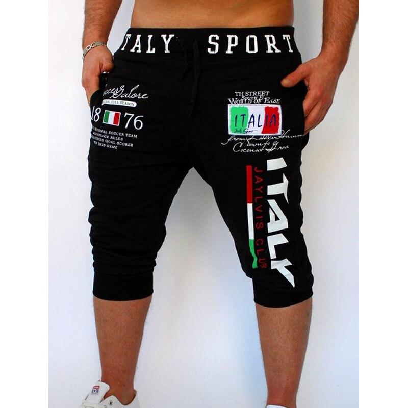 Pantalones cortos masculinos VENTA RÁPIDA a través de la explosión de pantalones diseño de estampado digital italiano 2017
