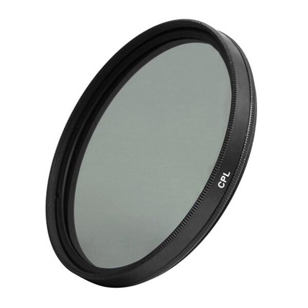 49 мм круговой поляризационный фильтр объектива CPL для цифровой камеры DSLR SLR DV видеокамеры