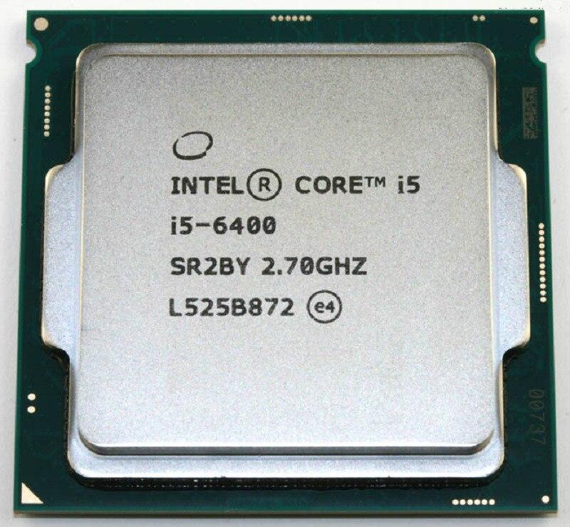 Четырехъядерный процессор Intel Core i5 6400 2,7 ГГц 6 м кэш 65 Вт Процессор SR2BY LGA1151