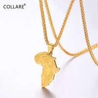 collare african map pendant mens goldrose goldblack color rapper stainless steel protection jewelry eye of horus necklace p892