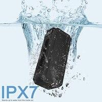 IPX7 עמיד למים נייד C-סוג אלחוטי TWS Bluetooth V4.2 סטריאו וופר אודיו DSP אודיו TF רמקול מתאים עבור חיצוני שימוש wi
