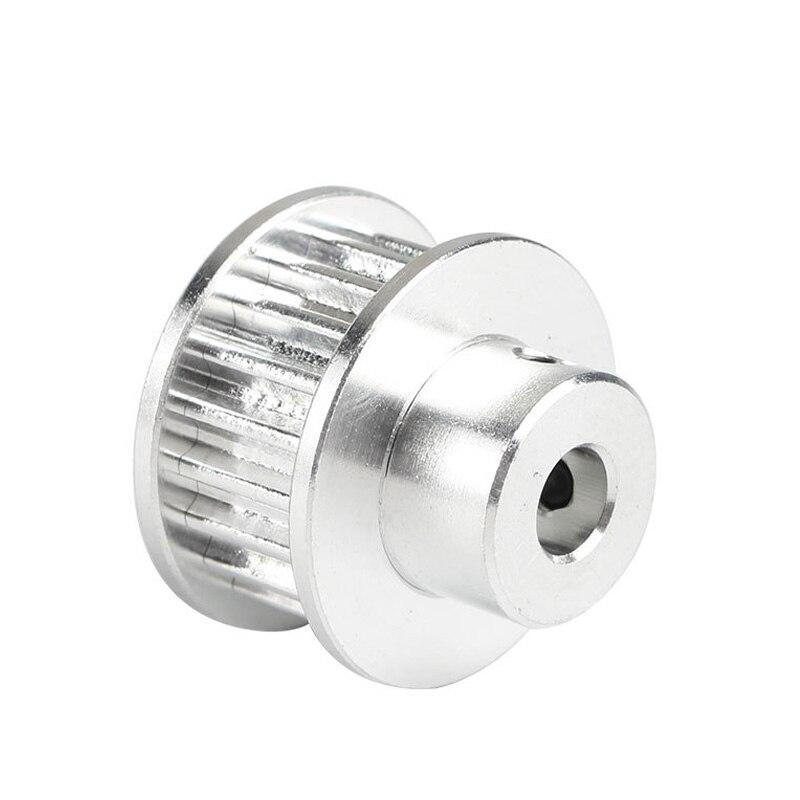 Venda quente de alumínio 3gt 20 dentes correia dentada polia roda síncrona para impressora 3d