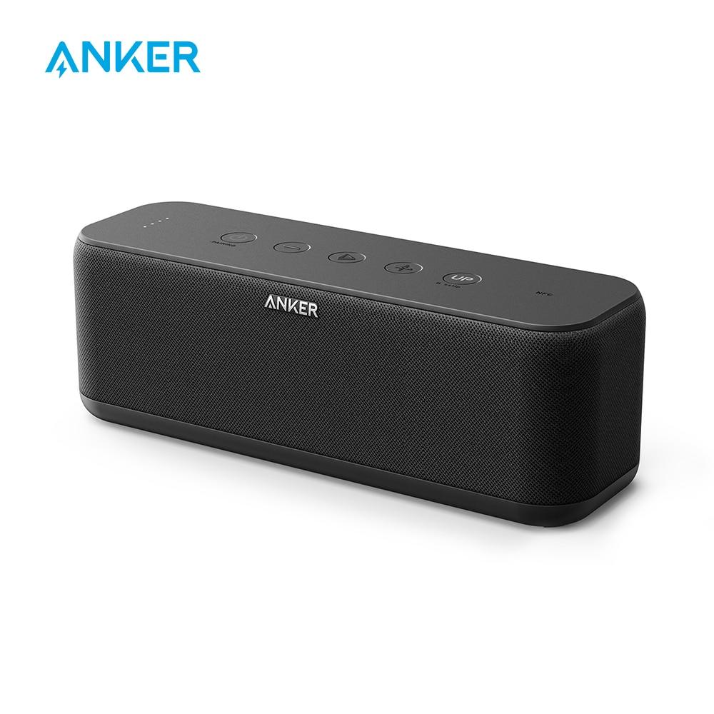 Bluetooth динамик Anker Soundcore Boost, портативный динамик с хорошо сбалансированным звуком, BassUp, 12 часов воспроизведения, USB C, IPX7 водонепроницаемы…