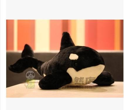Free shipping 2015 Hot Sale New Design 38cm  Killer Whale Plush Toy Soft Doll High Quality Shipping