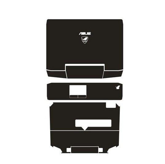 Vinil De fibra de Carbono Adesivos de Pele De Couro especial Capa guard Para ASUS G53 G53SW G53SX 15.6-inch