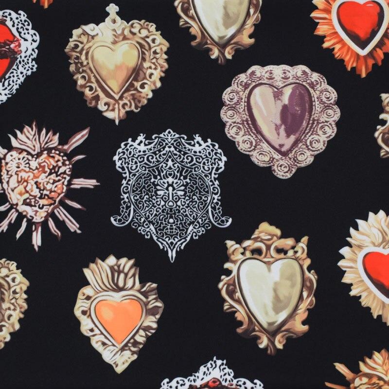 ¡Moda 2018! tela de raso elástica de gemas rojas para vestido de verano, telas de tela para vestidos de metros, tissu au metres, tejido tela, tela shabby chic