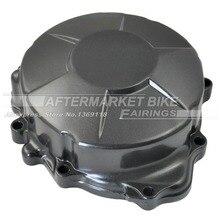 Motorcycle LEFT Crankcase For HONDA CBR600RR 2007 2008 2009 2010 2011 Engine Stator Crank Case Generator Cover
