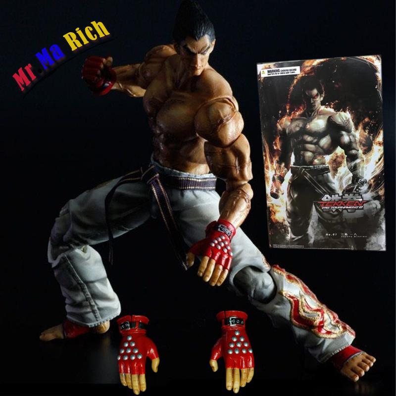 25 см Gioca Arts Kai Tekken Tag Tournament 2 Kazuya Mishima экшн ПВХ фигурка Коллекционная модель игрушки кукла speedizione Gratuita
