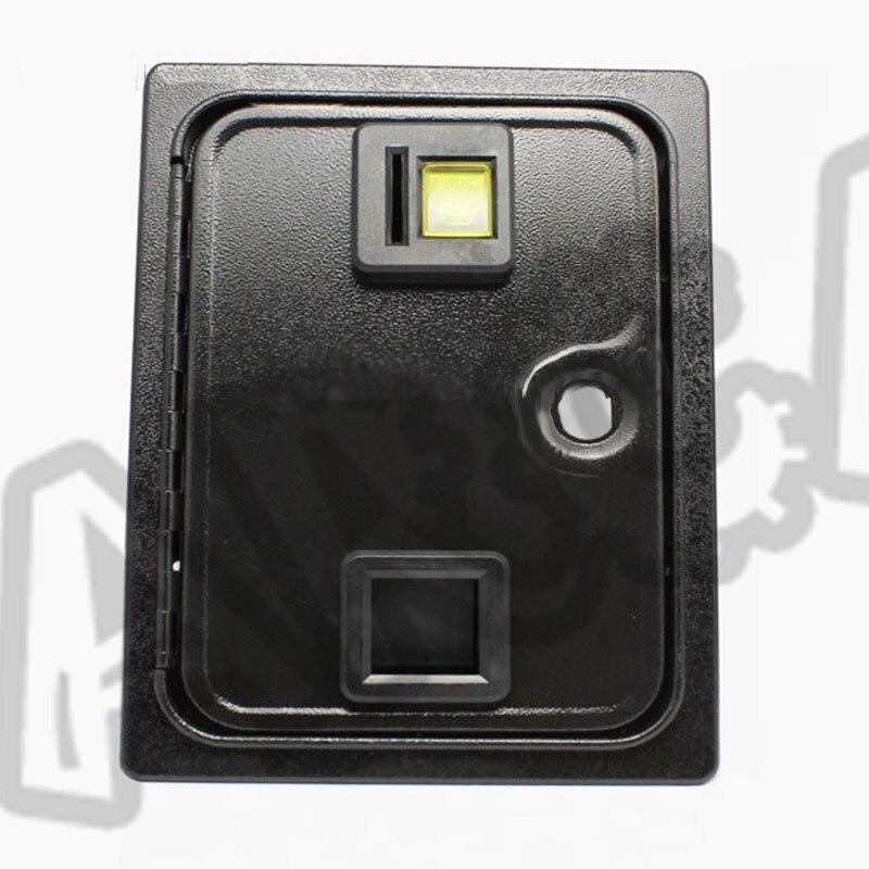 Горизонтальный Монетный механизм, монета, дверь с селектором монет и замком-камерой, запчасти для аркадного аппарата, аксессуары для игрово...