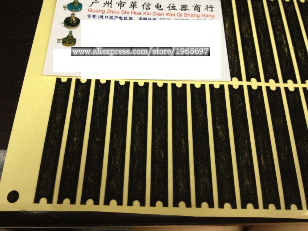 1 unids/lote de longitud de 6 cm de largo viaje 45MM película fader consola de mezcla fader polvo potenciómetro