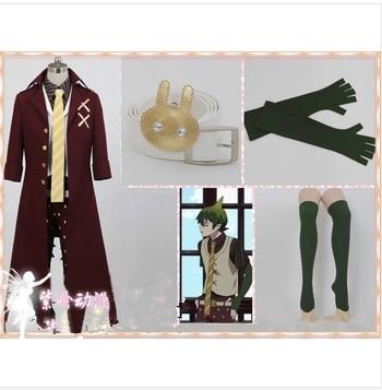Azul Anime exorcista/Ao no exorcista rey de la tierra Cosplay Amaimon traje