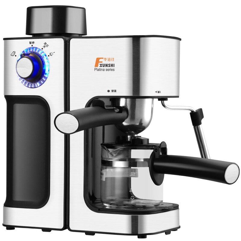 Итальянская автоматическая машина для приготовления кофе полуавтоматическая Паровая типа насос давление молочная пена кофейник Эспрессо машина кухня