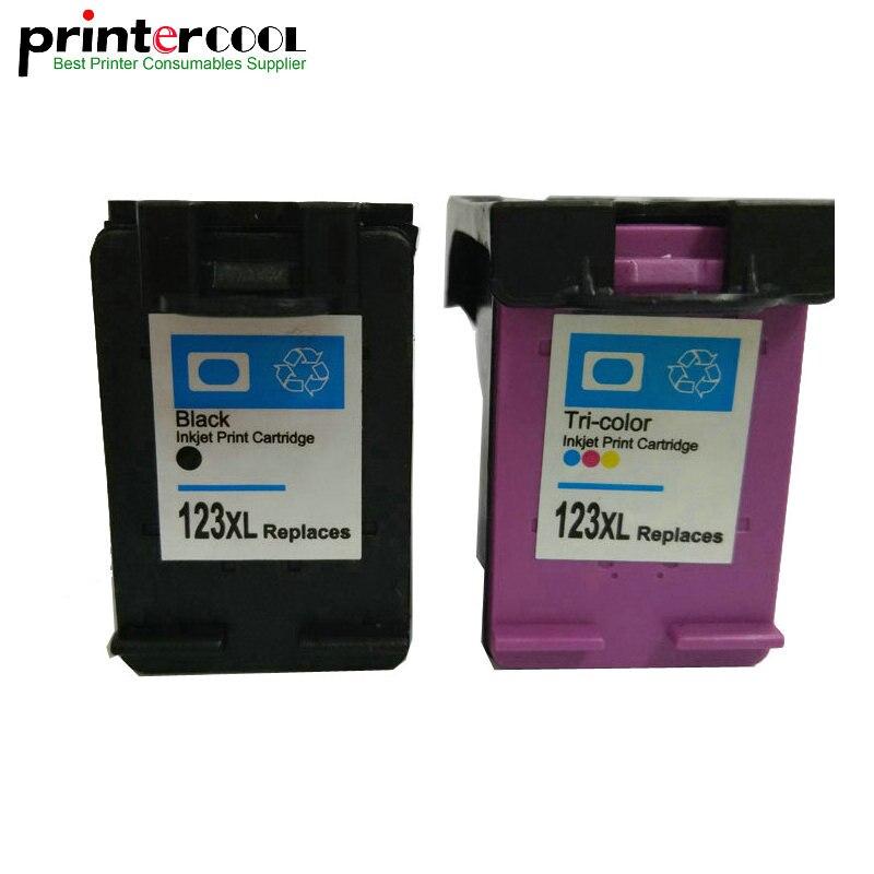 Einkshop 123xl remanufacturados cartucho de tinta Compatible para hp 123 xl Deskjet2130 1112, 3630, 3632, 3635, 3636 envidia 4516 impresora 4520