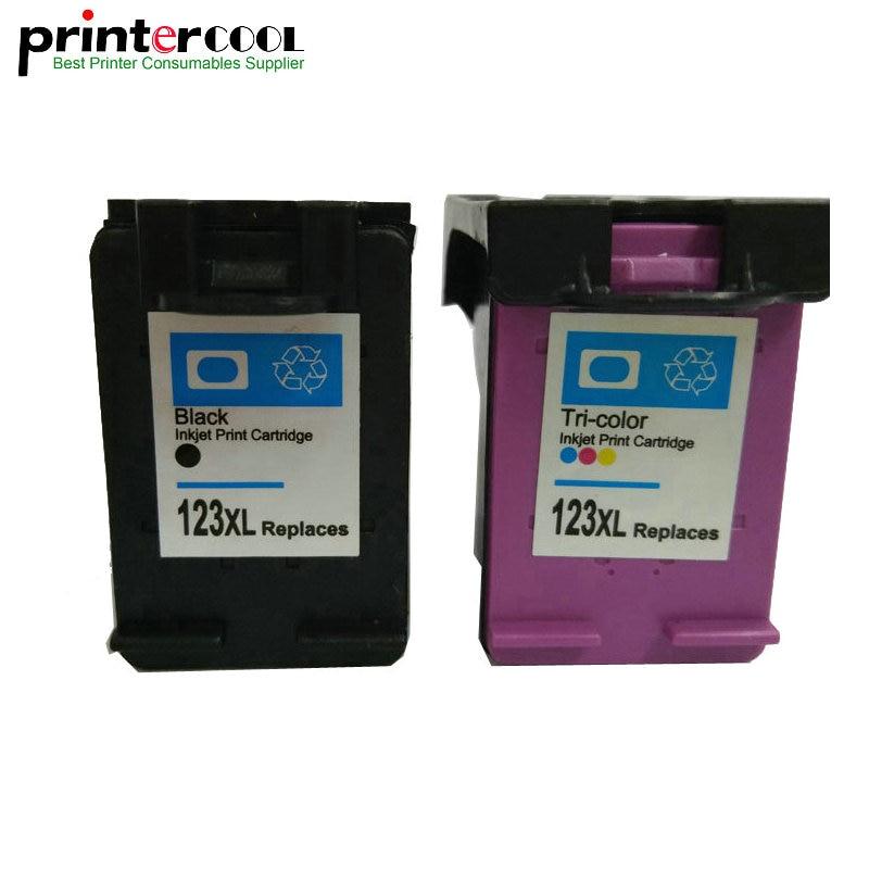 Cartucho de Tinta Compatível para hp Impressora de 1112 Einkshop Remanufactured Deskjet2130 Envy 4516 4520 3630 3632 3635 3636 123xl 123 xl