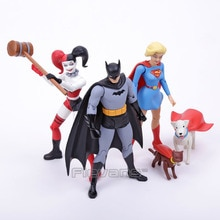 Série de créateurs DC COMICS Darwyn Cooke Batman/Supergirl/Harley Quinn figurine en PVC à collectionner modèle jouet 7