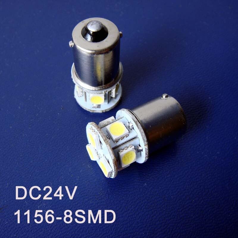 High quality 24V 1156 Freight Car Led Bulbs BA15s BAU15s P21W R5W PY21W 1141 Truck led lamps Turn Signals free shipping 2pcs/lot