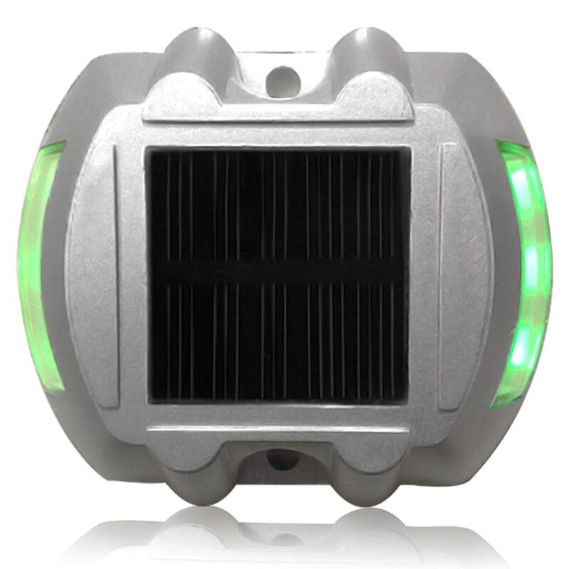 CNIM Hot 6 LED luces de seguridad de energía Solar verde