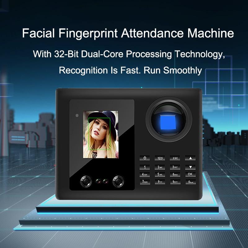 bowen mary time twist reader Eseye Facial Reader Time Attendance Fingerprint USB Time Clock Fingerprint Recorder Employee Access Control Machine For Office