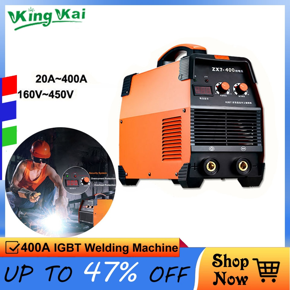 Super 400A IGBT Inverter Portable Arc Welder Equipment Electric Welding Machine ZX7-250 315 400 enlarge