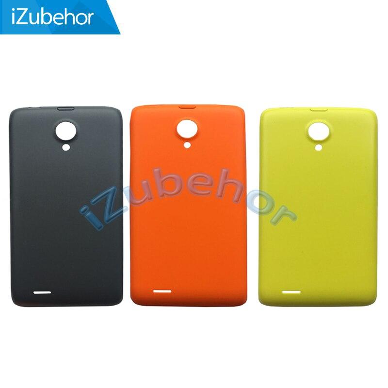 Gris/amarillo/naranja para Philips Xenium W6500 carcasa trasera para batería puerta trasera funda carcasa por envío gratis; 100% garantía