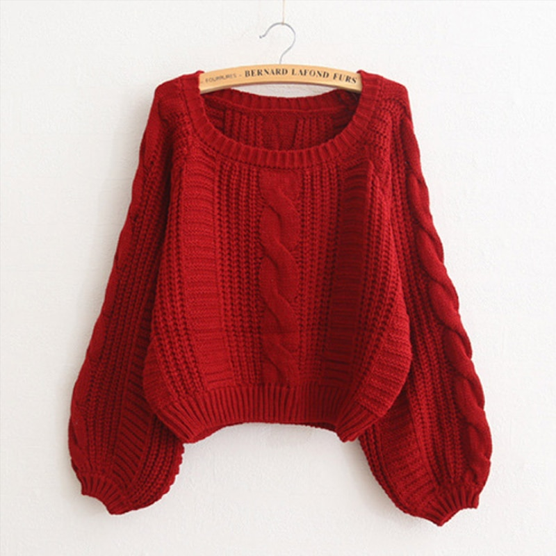 New Womens Sweater  Casual Knitted Pullover Winter Top Autumn Korean Fashion 2019 Women Thick Jumper