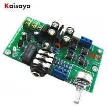 HA-PRO2 Ultra faible bruit faible distorsion amplificateur moniteur niveau casque amplificador conseil AC 12-0-12V bricolage Kits A8-018