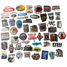52PCS Funny Fisherman Go Fishing Car stickers For laptop suitcase Freezer Vinyl Car-styling DIY decoration Decals Car Sticker