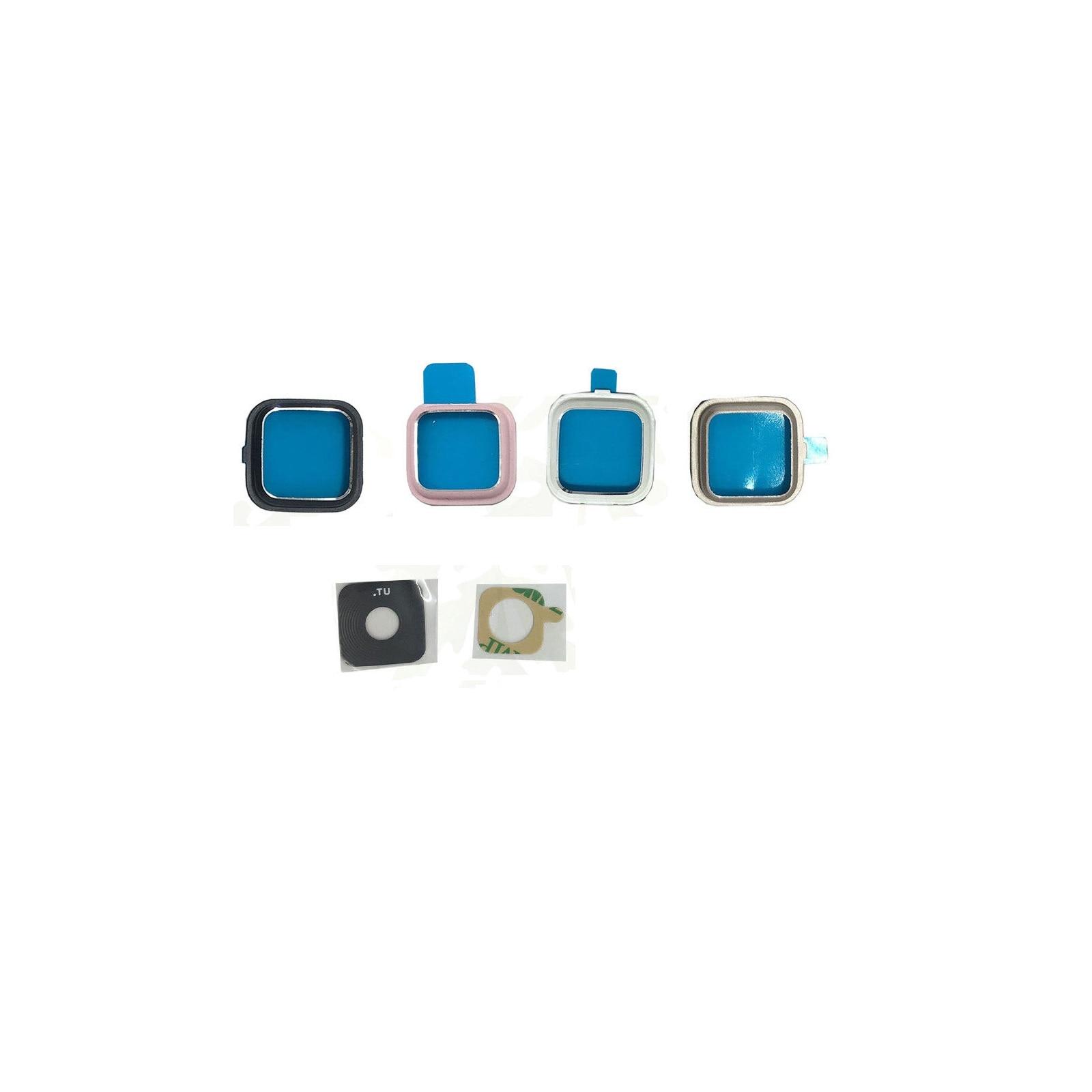 Para Samsung Galaxy Note 4 SM-N910 cámara trasera anillo lente cubierta módulo negro blanco rosa oro 10 unids/lote