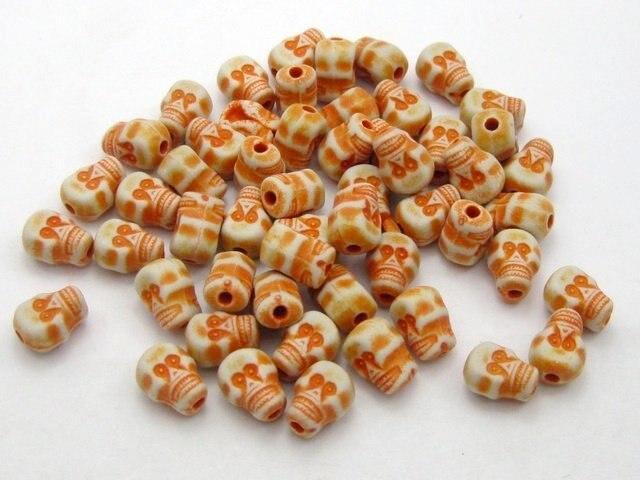 200-шт-оранжевые-шармы-для-головы-черепа-9-мм