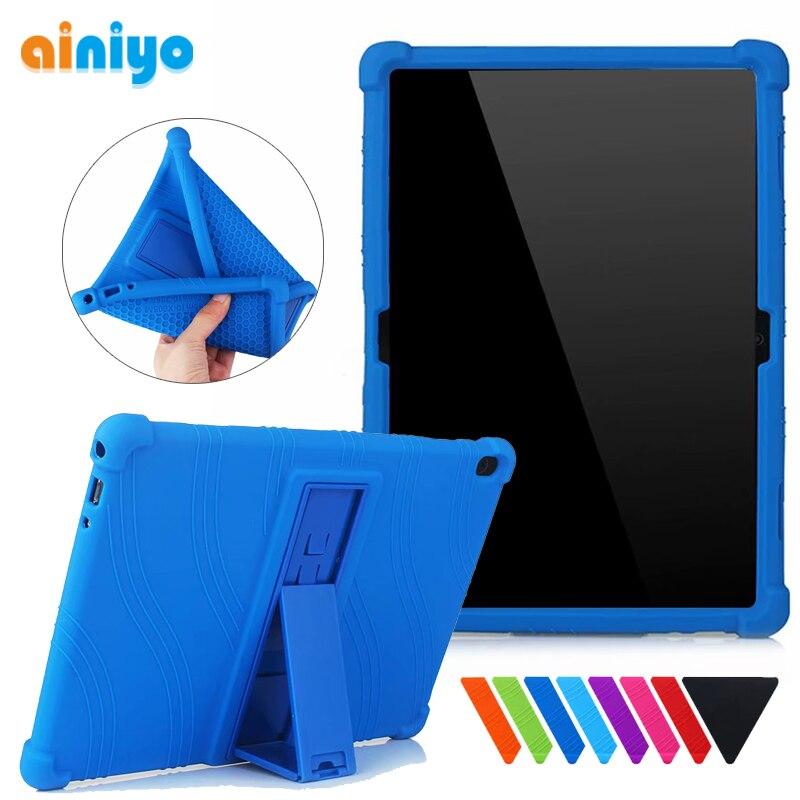 AliExpress - Silicon Cover Case for Lenovo Tab M10 HD 2nd TB-X306 P10 TB-X705 Tab M10 TB-X605 X505 10.1″ Tab M10 Plus Tb-x606 10.3″ Soft Case