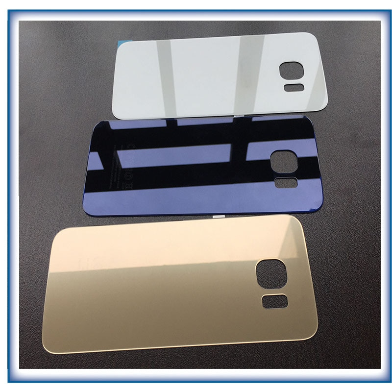 Ekvinor Rear Panel Glass Battery Back glass For Samsung Galaxy S6 edge G920 G920F G920P G925 G925F + Adhesive Sticker with tools enlarge