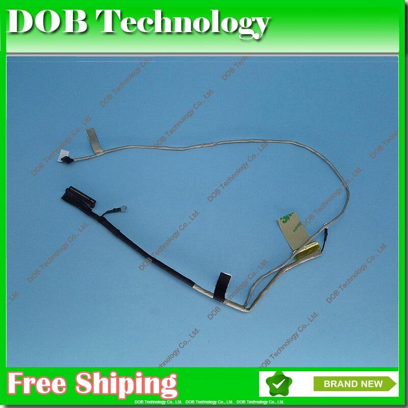 Original cable LCD para SONY Vaio SVE141D11L SVE141D11U LCD LVDS CABLE de Video DD0HK6LC000 DD0HK6LC001