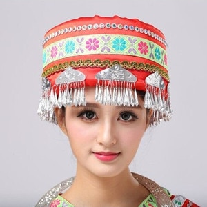 women's clothing accessories national head wear hats for women dance wear performance hat festival accessories