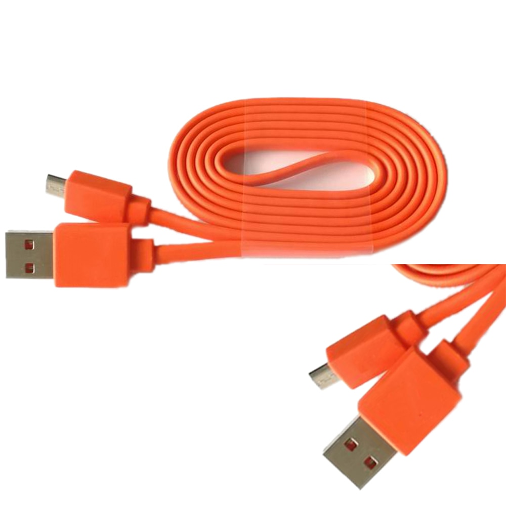 USB power charging cable cord for J B L FLIP 3 4 charge 2+ pulse 2 charge 3 Bluetooth Speaker USB CABLE RED