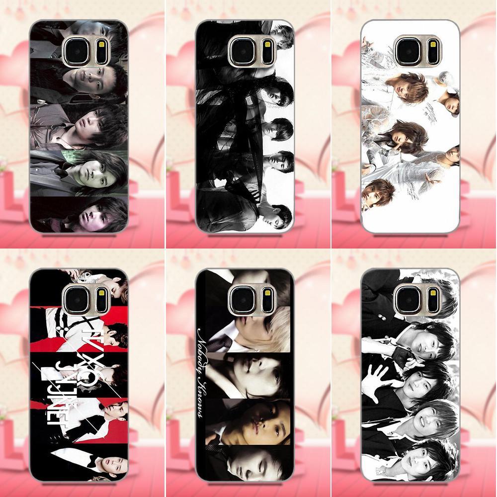 Dbsk Tvxq Kpop Design TPU Custom Design For Apple iPhone X 4 4S 5 5C 5S SE 6 6S 7 8 Plus For LG G3 G4 G5 G6 K4 K7 K8 K10 V10 V20