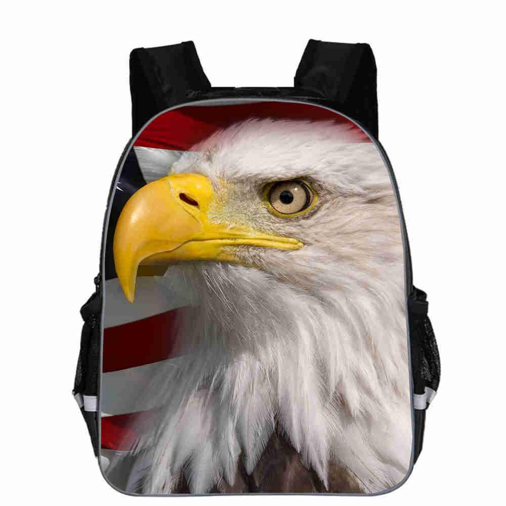 Mochila de águila para adolescentes, niños, niñas, niño, Animal, Chico, escuela, libro, bolsas, Tap Dance, hombres, mujeres, Mochila, Bolsa