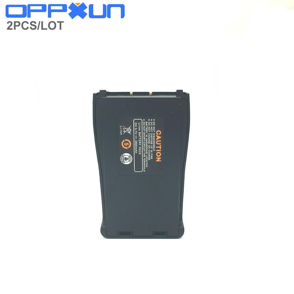 2 pçs/lote Baofeng 888S Li-ion Bateria 1200mAh 7.4V Acessórios para 888S bf Baofeng bf-888s Walkie Talkie Walkie Talkies Portáteis