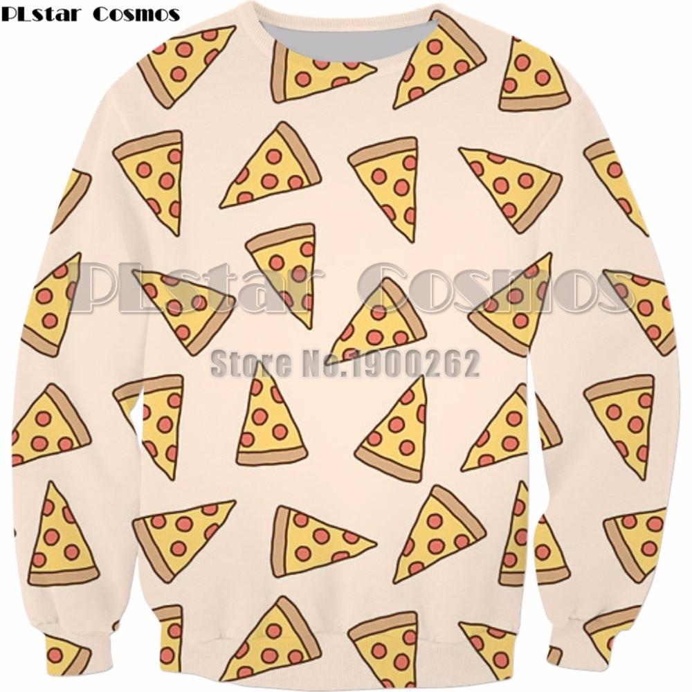 PLstar Cosmos patrón de Pizza/sueño de piña/naranjas 3D impreso hombre mujer sudadera de moda hoodies de talla grande S-5XL